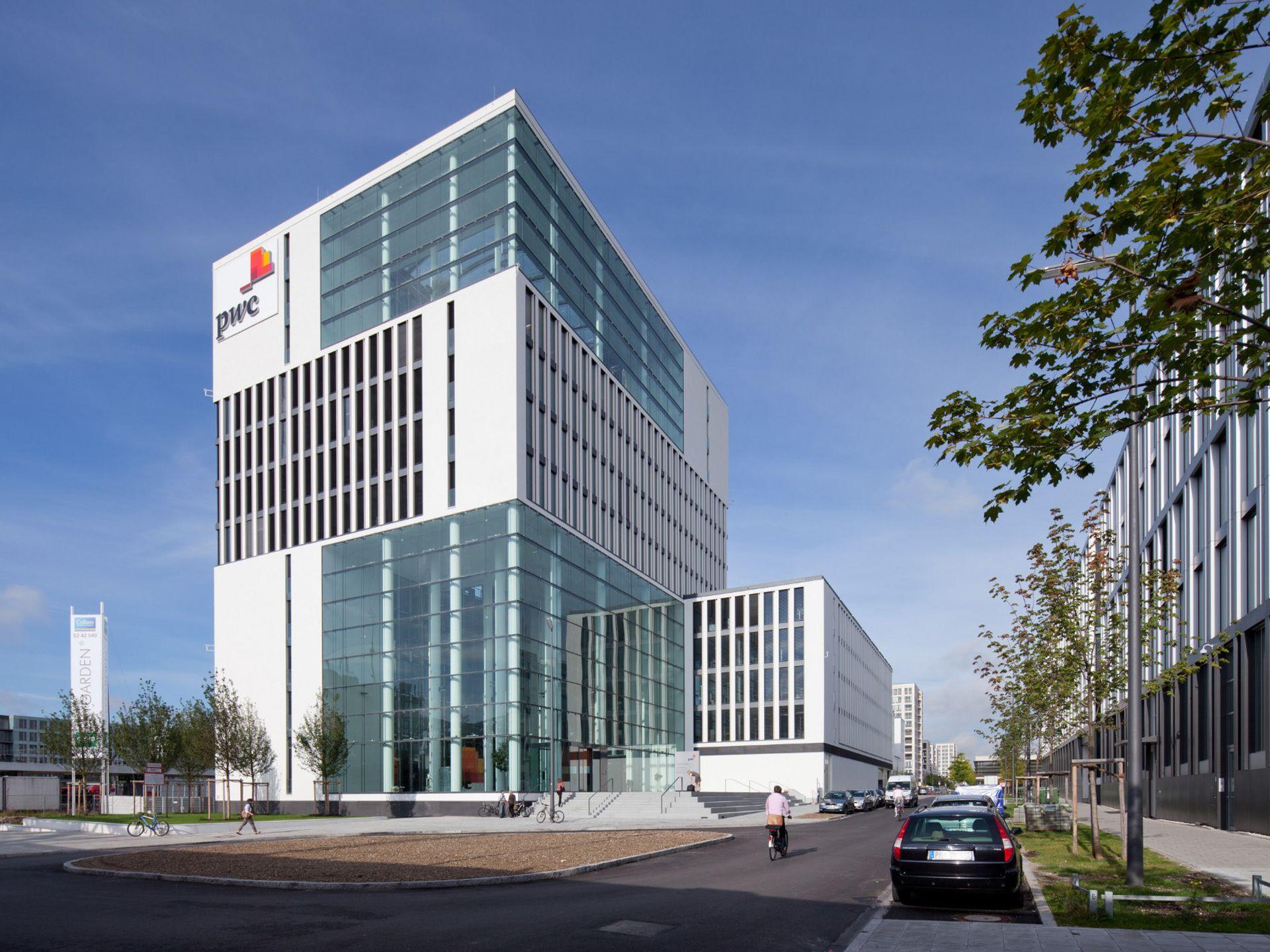 Skygarden im Arnulfpark, München - Bürohaus